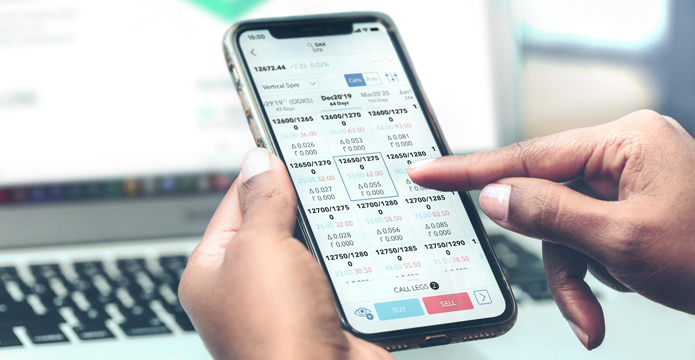 Aplikácie LYNX - mobilné obchodovanie v systémoch iOS a Android